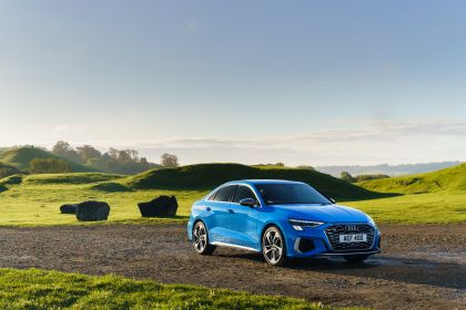 2021 Audi S3 sedan - UK version 2