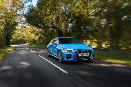 2021 Audi S3 sedan - UK version 9