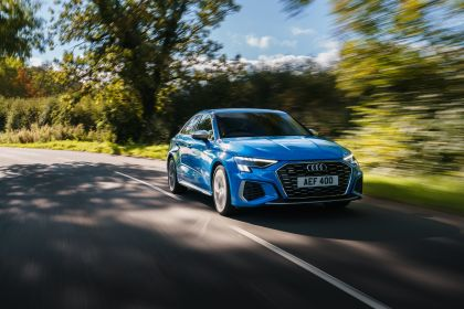2021 Audi S3 sedan - UK version 11