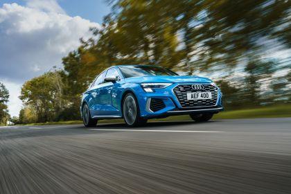 2021 Audi S3 sedan - UK version 12