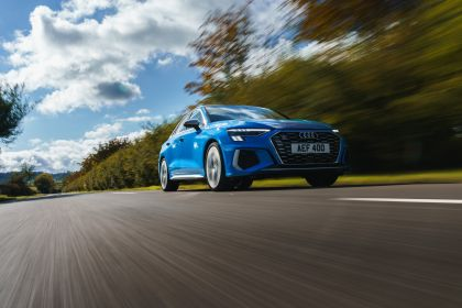 2021 Audi S3 sedan - UK version 15