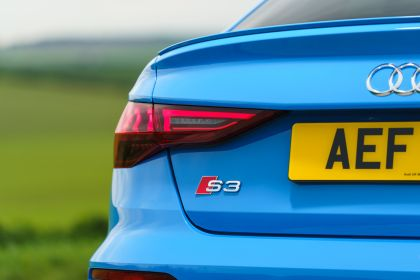 2021 Audi S3 sedan - UK version 60