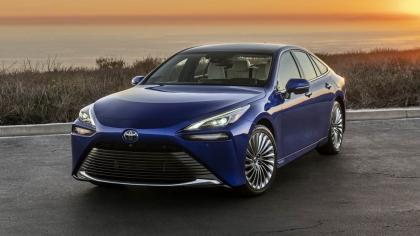 2021 Toyota Mirai Limited 9