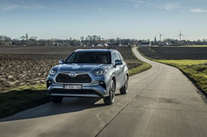 2021 Toyota Highlander hybrid - EU version 12