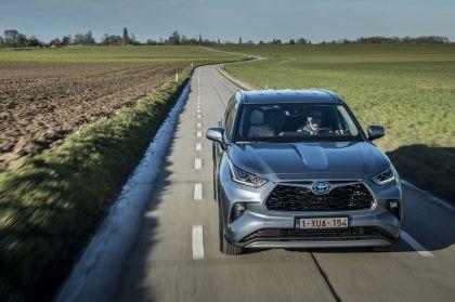 2021 Toyota Highlander hybrid - EU version 17