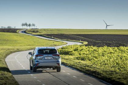 2021 Toyota Highlander hybrid - EU version 19