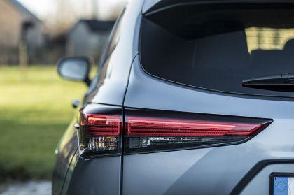 2021 Toyota Highlander hybrid - EU version 56
