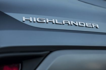 2021 Toyota Highlander hybrid - EU version 61