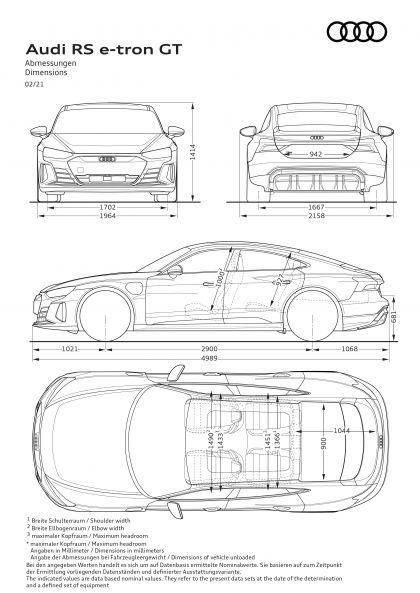 2022 Audi RS e-tron GT 50
