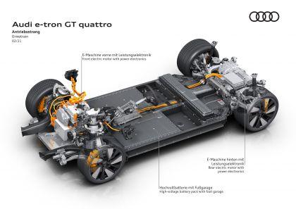2022 Audi e-tron GT quattro 48