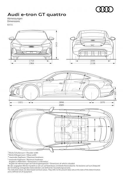 2022 Audi e-tron GT quattro 78