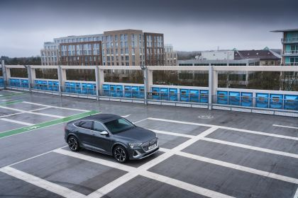 2021 Audi e-tron S Sportback quattro - UK version 10