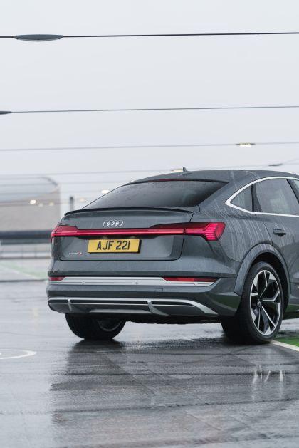 2021 Audi e-tron S Sportback quattro - UK version 93