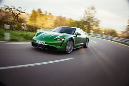 2022 Porsche Taycan Turbo S Cross Turismo 29
