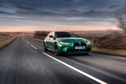 2021 BMW M3 ( G80 ) Competition - UK version 1