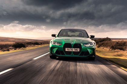 2021 BMW M3 ( G80 ) Competition - UK version 3