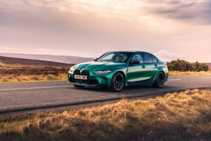 2021 BMW M3 ( G80 ) Competition - UK version 13