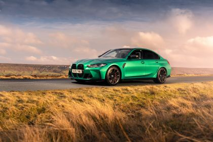 2021 BMW M3 ( G80 ) Competition - UK version 16