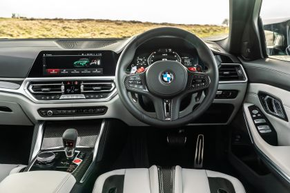 2021 BMW M3 ( G80 ) Competition - UK version 46
