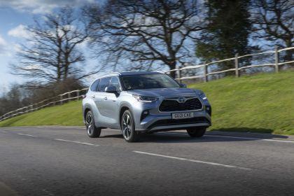 2021 Toyota Highlander hybrid - UK version 2