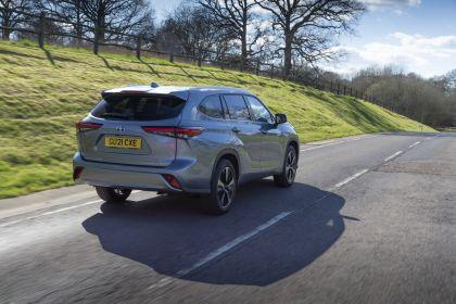 2021 Toyota Highlander hybrid - UK version 15
