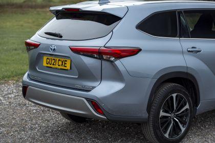 2021 Toyota Highlander hybrid - UK version 36