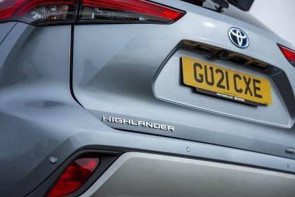 2021 Toyota Highlander hybrid - UK version 37