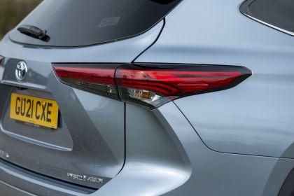 2021 Toyota Highlander hybrid - UK version 39