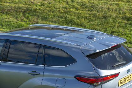 2021 Toyota Highlander hybrid - UK version 41