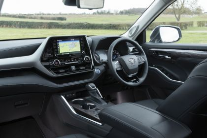2021 Toyota Highlander hybrid - UK version 43