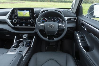 2021 Toyota Highlander hybrid - UK version 44
