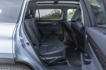 2021 Toyota Highlander hybrid - UK version 48