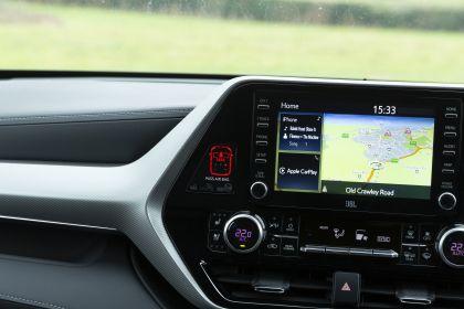 2021 Toyota Highlander hybrid - UK version 51