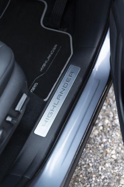 2021 Toyota Highlander hybrid - UK version 61