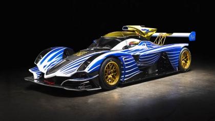 2021 Praga R1 racing by Frank Stephenson