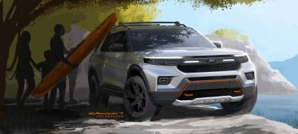 2021 Ford Explorer Timberline 14