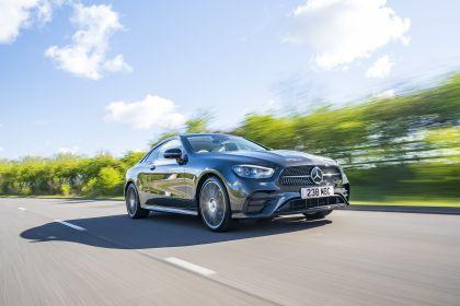 2021 Mercedes-Benz E 220 d coupé - UK version 1