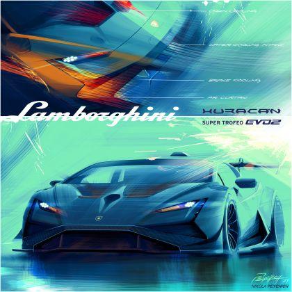 2022 Lamborghini Huracán Super Trofeo EVO2 18