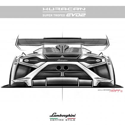 2022 Lamborghini Huracán Super Trofeo EVO2 23