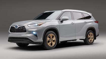2022 Toyota Highlander Bronze Edition 9