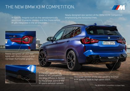 2022 BMW X3 ( F97 ) M Competition 57