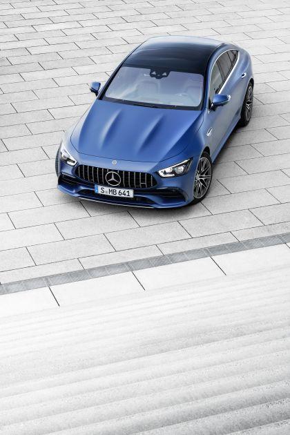 2021 Mercedes-AMG GT 53 4-door coupé 28