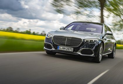 2021 Mercedes-Maybach S 580 4Matic 3