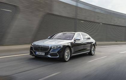 2021 Mercedes-Maybach S 580 4Matic 8
