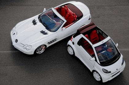 2008 Mercedes-Benz SLR Roadster by Brabus Vs Smart Ultimate 112 by Brabus 1