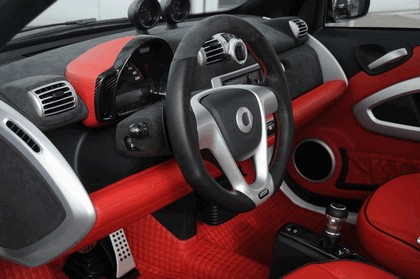 2008 Mercedes-Benz SLR Roadster by Brabus Vs Smart Ultimate 112 by Brabus 36
