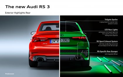 2022 Audi RS3 sedan 89