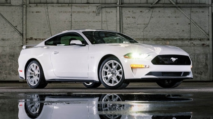 2022 Ford Mustang Ice White Appearance Package 5