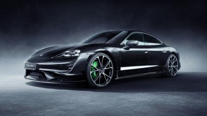 2021 Porsche Taycan with TechArt aerokit 4