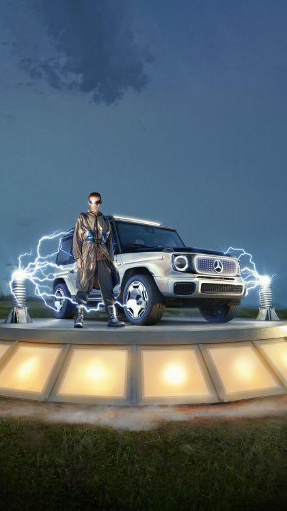 2021 Mercedes-Benz EQG concept 10